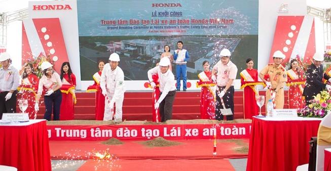 Honda Việt Nam khởi công xây dựng Trung tâm Đào tạo LXAT tiêu chuẩn quốc tế