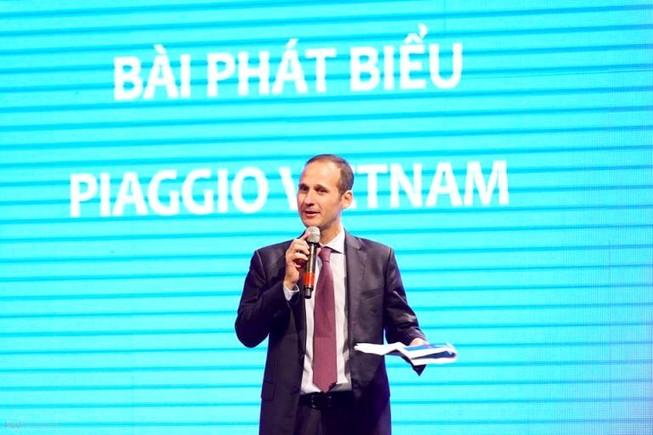 Piaggio Việt Nam bổ nhiệm giám đốc thị trường Việt Nam