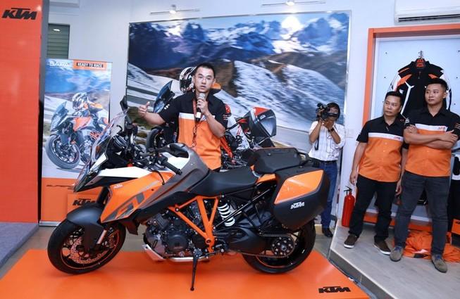 Hãng mô tô KTM công bố nhà cung cấp độc quyền tại VN