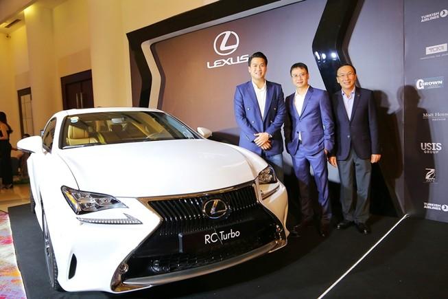 Lexus đồng hành cùng dạ tiệc CEO Night