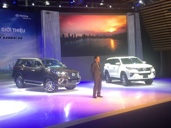 Toyota Fortuner 2017, mãnh lực hào hoa
