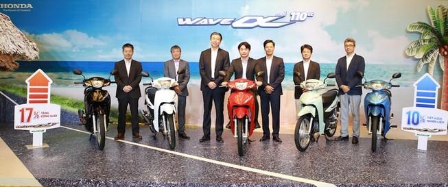 Honda ra mắt Wave Alpha 110cc hoàn toàn mới
