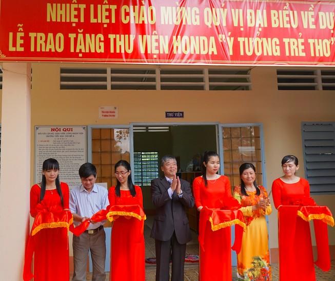 Honda Việt Nam dành 2,5 tỉ đồng cho khuyến học