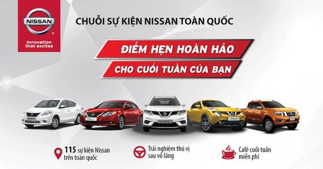 Nissan tổ chức lái thử xe trong tháng 3 trên toàn quốc