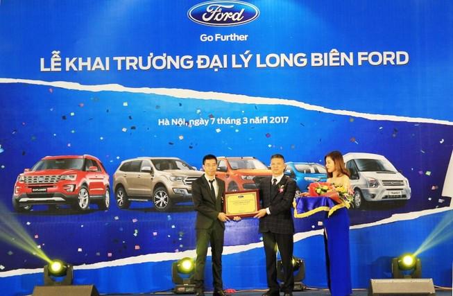 Ford khai trương Long Biên Ford - Hà Nội