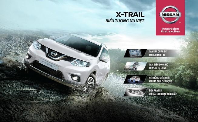 X-Trail: chiếc Crossover được yêu thích nhất năm 2016