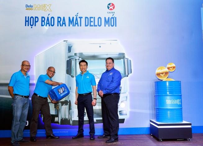 Caltex Delo 400 MGX, dầu nhờn cho xe tải nặng