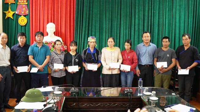 Honda Việt Nam hỗ trợ các tỉnh bị lũ lụt