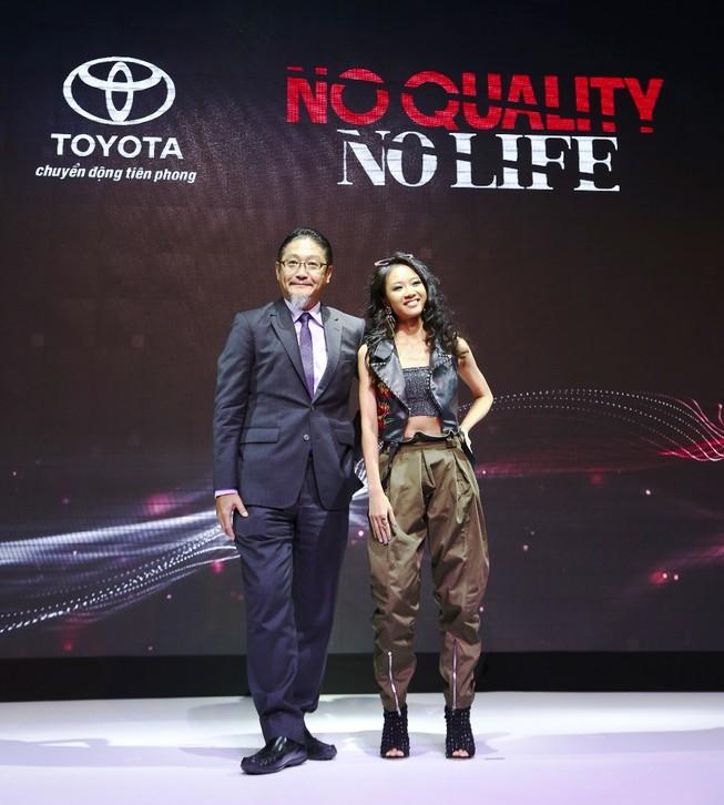 Toyota chọn Suboi làm đại sứ dự án NO QUALITY. NO LIFE