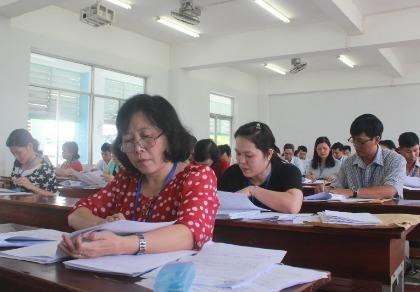 Cụm thi THPT quốc gia phía Nam hoàn tất chấm thi