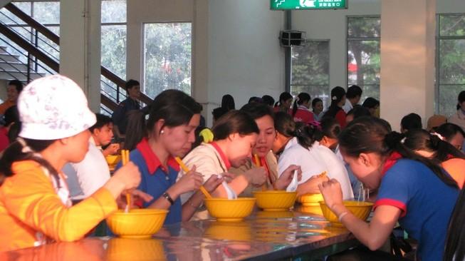 Ngày hội 'Bữa ăn an toàn cho công nhân lao động'