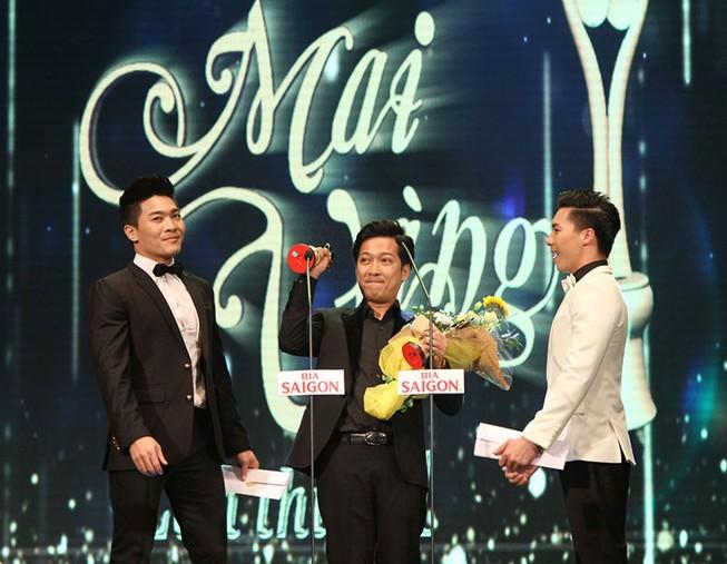 Trường Giang lập cú đúp tại giải Mai Vàng lần thứ 21-2015