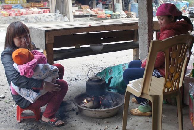 Xuất hiện băng giá ở miền Tây Nghệ An, người dân lo lắng