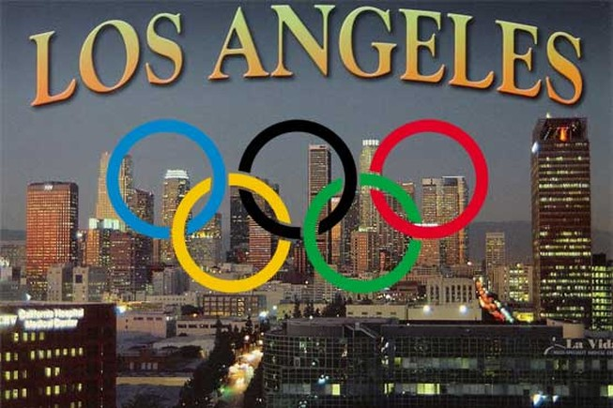 Los Angeles vận động Olympic thời minh bạch
