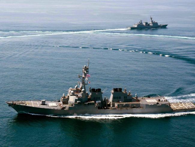 Úc sẽ tập trận 'tự do hàng hải' gần đảo nhân tạo ở biển Đông?
