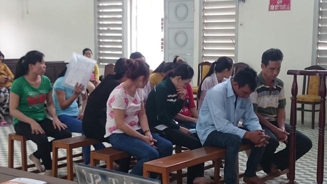 Xét xử đường dây đưa 37 phụ nữ sang Singapore trái phép