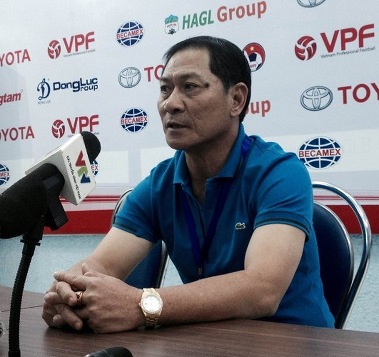 HLV Đinh Cao Nghĩa: Với tôi, Sanna Khánh Hòa cũng như B.Bình Dương, Hà Nội T&T