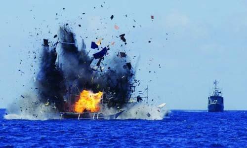 Việt Nam xác minh các tàu cá bị Indonesia đánh chìm