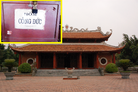Viếng chùa ngày Phật Đản, trộm luôn thùng công đức