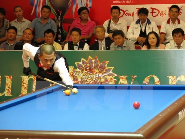 Trận 'đánh thử' cho World Cup Billiards Carom ba băng 2015