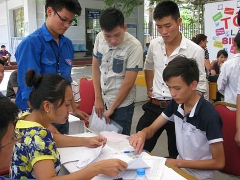 Điểm chuẩn các trường ĐH công bố chiều 25-8