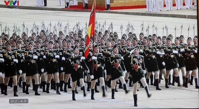 Toàn cảnh lễ mít tinh mừng 70 năm ngày Quốc khánh 2-9
