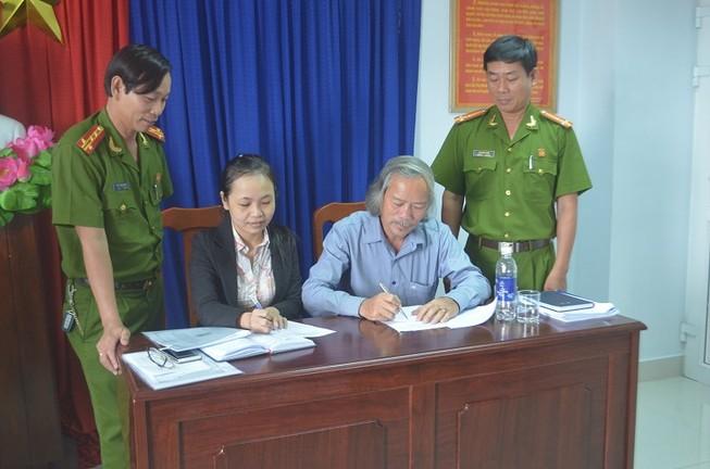 DN khai thác khoáng sản ký cam kết bảo vệ môi trường