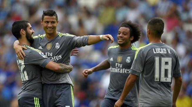 Espanyol 0-6 Real: Ronaldo giải hạn với cơn mưa bàn thắng