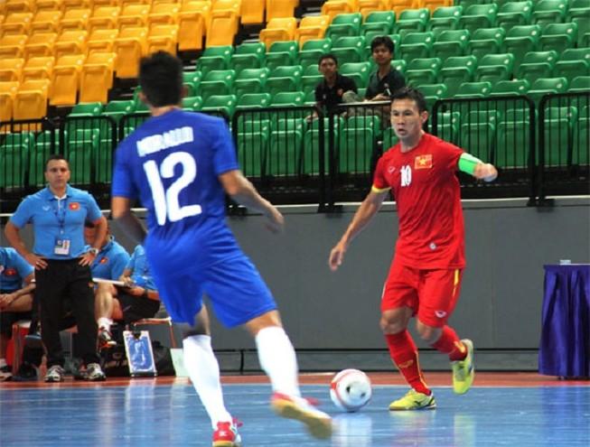 Vòng bảng giải Futsal Đông Nam Á 2015: Việt Nam chưa vượt ngưỡng