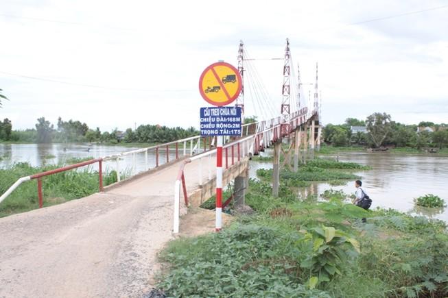 Cấm lưu thông cầu dây văng không phép