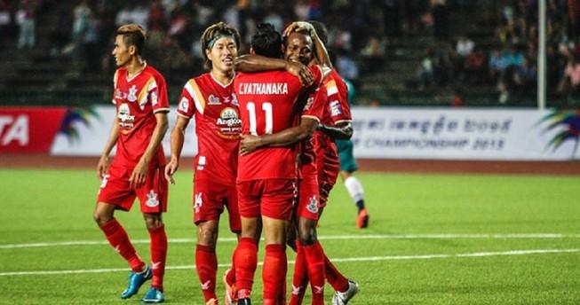 Toyota Mekong Club Championship: Vô địch V- League bị vô địch Campuchia loại