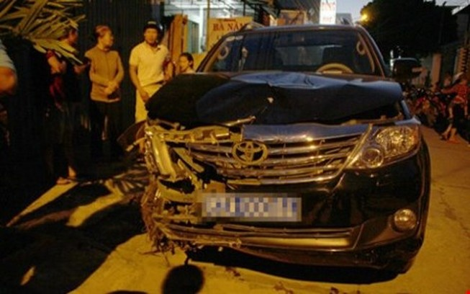 Đình chỉ công tác Viện trưởng Viện kiểm sát gây tai nạn liên hoàn