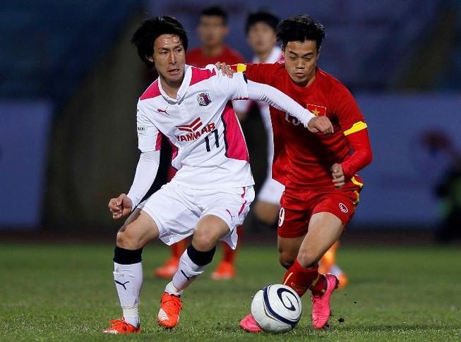 Trận giao hữu thứ ba của U-23 Việt Nam: Hòa Cerezo Osaka (Nhật Bản) 2-2