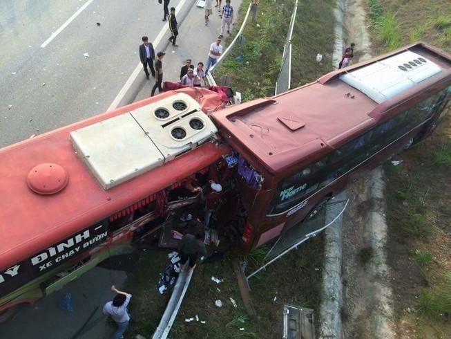 Danh sách các nạn nhân trong vụ tai nạn cao tốc Hà Nội - Lào Cai