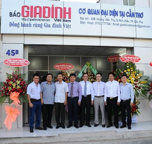 Báo Gia đình Việt Nam thành lập cơ quan đại diện tại Cần Thơ
