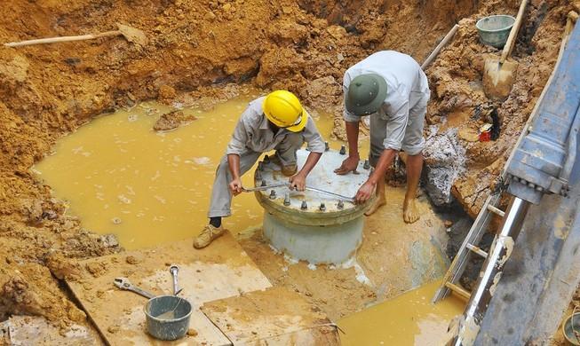 Khắc phục xong sự cố đường nước sạch sông Đà lần thứ 17