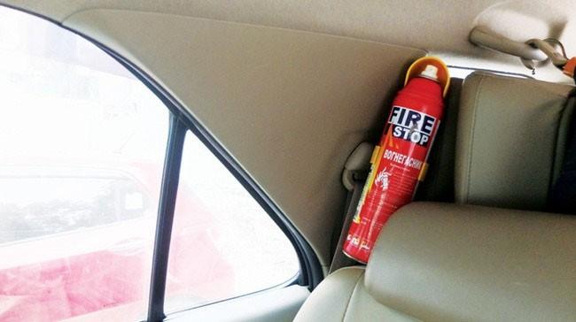 Chính thức xử phạt xe không trang bị phương tiện chữa cháy