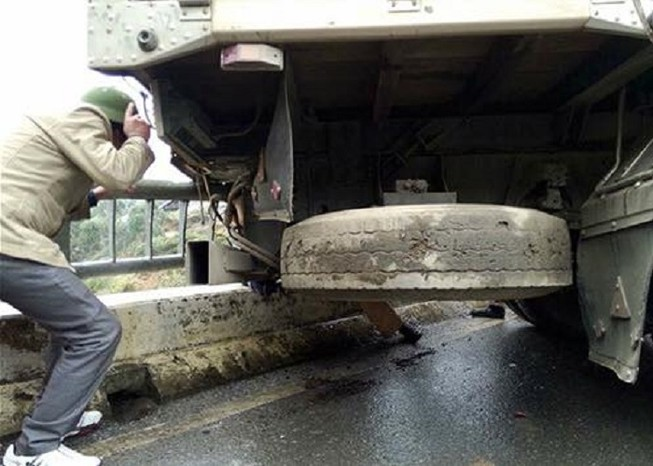 Một CSGT thiệt mạng khi đang phân luồng giao thông