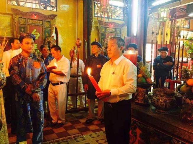 Trang trọng lễ giỗ lần thứ 296 thượng đẳng thần khai phá đất Đồng Nai
