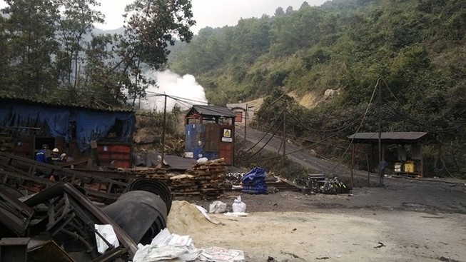 Cháy khí lò than, 5 công nhân bỏng nặng