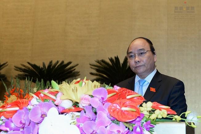 Tân Thủ tướng Nguyễn Xuân Phúc tuyên thệ trước Quốc hội