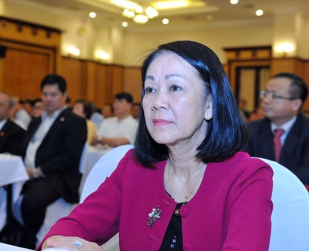 Phân công thêm công tác cho Ủy viên Bộ Chính trị Trương Thị Mai