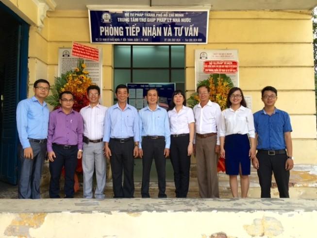 Thêm điểm trợ giúp pháp lý tại TAND TP.HCM