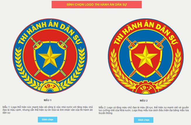Tổng cục Thi hành án dân sự lấy ý kiến về mẫu logo