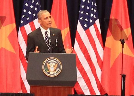 Bài phát biểu gây xúc động đặc biệt của Tổng thống Obama