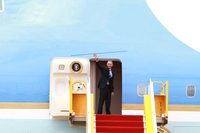 Tổng thống Obama kết thúc tốt đẹp chuyến thăm Việt Nam