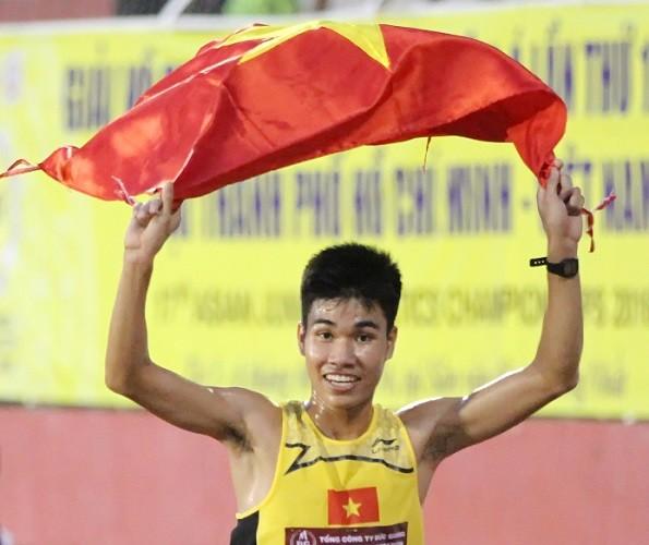 Giải điền kinh trẻ Châu Á: Việt Nam giành 2 huy chương ngày thi cuối