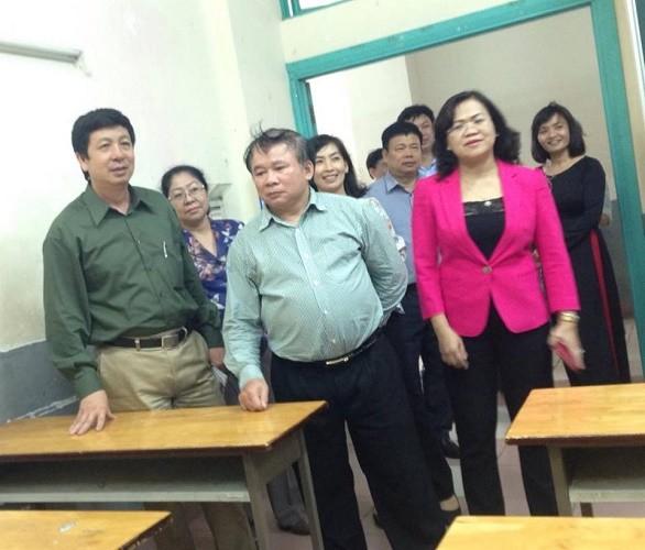 Thứ trưởng kiểm tra công tác chuẩn bị kỳ thi THPT tại Đồng Nai