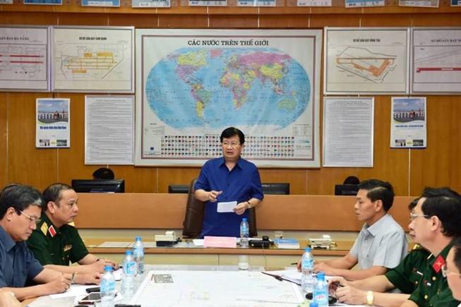 Phó Thủ tướng Trịnh Đình Dũng trực tiếp chỉ đạo cứu nạn CASA 212