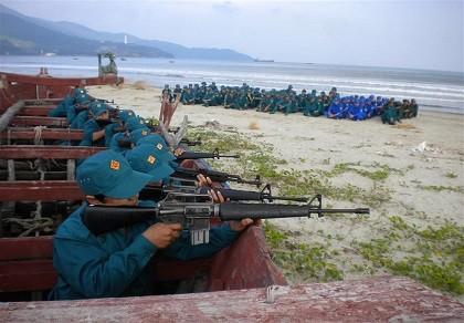 Nghệ An thành lập thêm trung đội dân quân biển có công cụ hỗ trợ